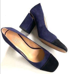 Like new Franco Sarto leather heels